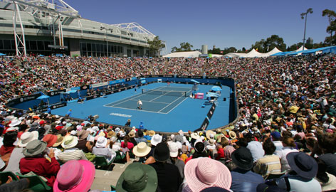 The Australian Open has had record turnouts for nine consecutive years. Success at Grand Slams has spawned long lines, packed conditions and pricey tickets.