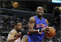 Detroit guard Rodney Stuckey has been a mainstay in the Pistons' lineup. Stuckey became a regular on Dec. 9.