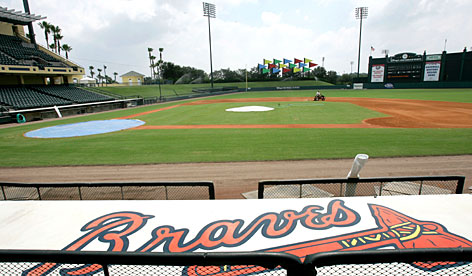 The newly renamed Champion Stadium at Disney's Wide World of Sports complex in Kissimmee, Fla., will soon be bustling with activity as the spring training home of the Atlanta Braves.