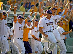 LSU made the College World Series last year and starts this season at No. 1 in the preseason poll.