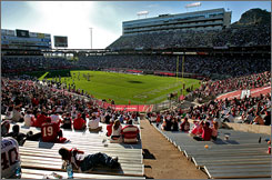 The Cardinals often played in less-than-capacity crowds when they called Sun Devil Stadium in Tempe, Ariz., home.