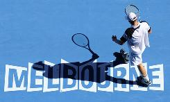 Andy Roddick of the USA moves on to the quarterfinals of the Australian Open after a victory Sunday against Tommy Robredo of Spain. Next up for Roddick is defending champion Novak Djokovic.