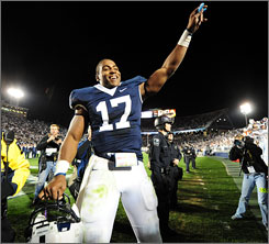 Daryll Clark will be looking to lead Penn State to another trip to Pasadena in 2009.