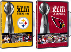 DVDs for the Super Bowl champion already are in the works. Depending on who wins, one goes to stores, one goes nowhere.