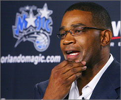 Magic coach Stan Van Gundy credits general manager Otis Smith, above, for making all the right moves.