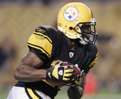 Steelers Rashard Mendenhall, a highly touted running back out of the 2008 NFL draft, missed most of the season with an injury.