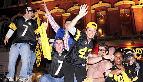 Winning the Super Bowl sent Steelers fans into the streets of Pittsburgh. Mayor Luke Ravenstahl told a local newspaper that the city will hold an official celebration either Tuesday or Wednesday.