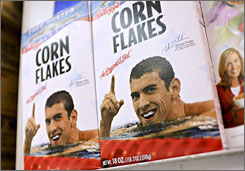 Michael Phelps' endorsement deal with Kellogg Co., the maker of corn flakes, will not be renewed after it expires at the end of Feb.