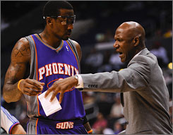 Amare Stoudemire of the Suns has been the subject of trade rumors, involving reported talks with the Bulls.
