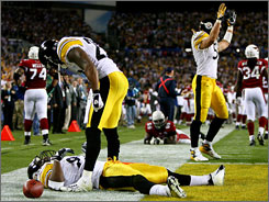 James Harrison's 100-yard interception return for a touchdown in the Super Bowl was one of the most memorable plays of the NFL's 2008 season.