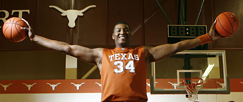 "Dexter Pittman is all smiles now that's he has droppped 93 pounds since arriving at the University of Texas nearly three years ago. His new looks have his teammates calling him ""Sexy Dexy."""