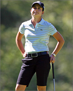 Lorena Ochoa is hoping for a better finish to her season in 2009.