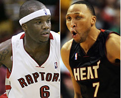 Jermaine O'Neal, left, and Shawn Marion will be wearing new uniforms after the All-Star break.
