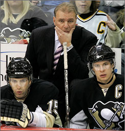 Michel Therrien and Pittsburgh struggled to a 27-25-5 record this season, leading to his dismissal from the Penguins.