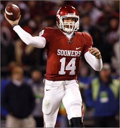 Sam Bradford is looking forward to Oklahoma making another run at a national championship.