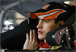 Joey Logano came away from his first Daytona 500 with a 43rd-place finish.