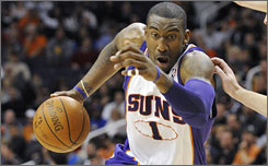 Amare Stoudemire has averaged 21.4 points and 8.1 rebounds per game this season for the Suns.