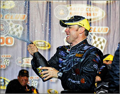 The 2009 NASCAR Sprint Cup season is only two races old, and Matt Kenseth, above, has won both.