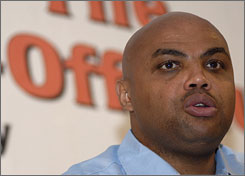 Charles Barkley, shown in 2007, is headed to jail for five days for driving drunk on Dec. 31.