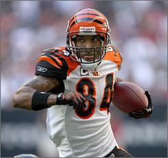 Bengals receiver T.J. Houshmandzadeh considers himself set for a big payday when the NFL's free agency season begins on Friday.