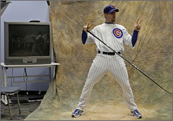 Starter Ryan Dempster, goofing off in spring training, returns, but six Cubs pitchers from last season are gone.
