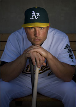 Athletics new outfielder Matt Holliday, who spent 11 years in Colorado's organization, is eligible for free agency after this coming season and is not expected to re-sign with the low-budget A's.