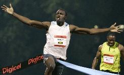 Usain Bolt broke the 100 meters world record at the Reebok Grand Prix in New York in 2008. The new Diamond League format increases the chances for U.S. track fans to watch him in action in 2010, at the Reebok meet or the Prefontaine Classic.