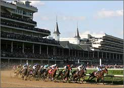 The crowded Kentucky Derby field will be a rare sight under new Churchill Downs safety measures.