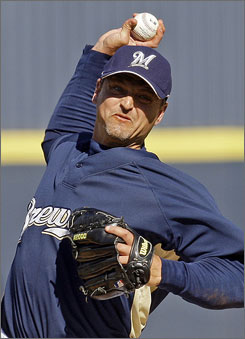 "Closer       Trevor Hoffman, baseball's all-time saves leaders, brings his ""Hells Bells"" intensity to the Milwaukee Brewers."