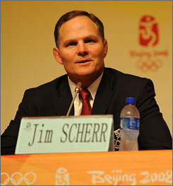 USOC CEO Jim Scherr announced his resignation earlier on Thursday. After about four years at the helm of the organization he will leave at the end of March.