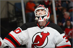 The New Jersey Devils stayed in contention while Martin Brodeur was out with an arm injury. Are they destined for the Stanley Cup with their All-Star back in goal?