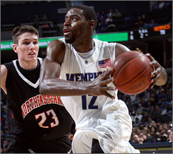 Tyreke Evans and the Memphis Tigers hope the selection committee, which starts its deliberations Wednesday in Indianapolis, gives them a No. 1 seed in the NCAA tournament.