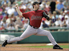 Right-hander and All-Star Roy Oswalt was one of at least 10 pitchers used in each of the last three season for the Astros.