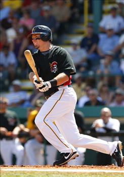 Pittsburgh Pirates third baseman Andy LaRoche has hit safely in all nine of his games this spring (11-for-20) to lead Grapefruit League hitters with a .550 average.