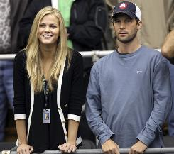 Larry Stefanki, with Andy Roddick's fiance Brooklyn Decker, is the seventh