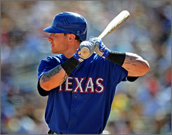 Texas Rangers outfielder Josh Hamilton, who hit .304 with 32 homers and 130 RBI in his first full season, is ready for another chapter in his life.