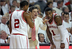 Rick Pitino and the Louisville Cardinals earned the No. 1 overall seed in the NCAA tournament.