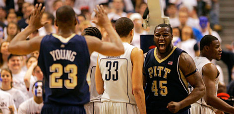 Pittsburgh claimed the No. 1 seed in the East, with Duke at No. 2 and Villanova at No. 3.