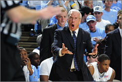 Roy Williams and North Carolina didn't win the ACC tournament but still garnered a No. 1 seed in the NCAA tournament.