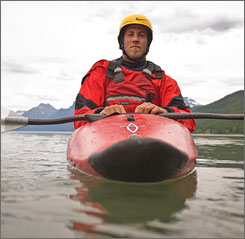 """I wanted to give young people an identity other than cancer,"" kayaker and First Descents founder Brad Ludden says."