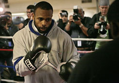 Boxer Roy Jones Jr. will fight in MMA's main event on Saturday.