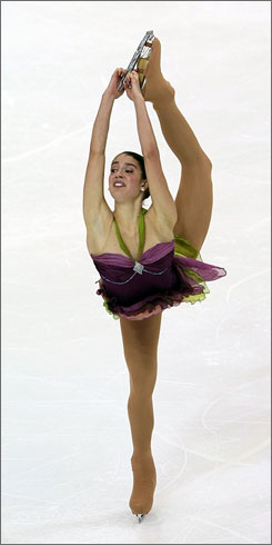 Twenty-one-year-old Alissa Czisny is the current U.S. champ.