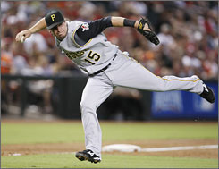 Third baseman Andy LaRoche joined the Pirates from the Dodgers last year. He'll get to play with brother Adam.