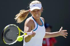 Belarus' Victoria Azarenka will make her top-10 debut at the Sony Ericsson Open this week.