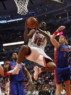 Acquired in mid-February, John Salmons has helped the Bulls make a playoff push.
