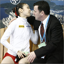 Olympic gold for Kim Yu-Na would help Brian Orser make up for his near miss in 1988.