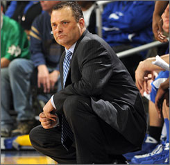 Billy Gillispie is uncertain of his future after two disappointing seasons as Kentucky coach.