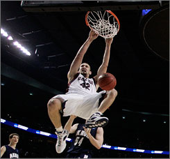 Josh Heytvelt tallied 19 points and nine rebounds the last time he faced North Carolina and Tyler Hansbrough. He'll need similar -- if not better -- numbers on Friday  if the Zags want to knock off the top-seeded Tar Heels in the South Regional semifinals.