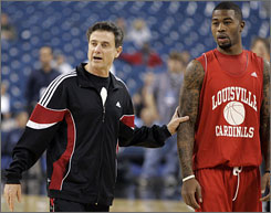 Rick Pitino says the only job he considered leaving Louisville for was the Providence job that was filled by Keno Davis last offseason.