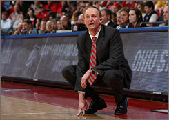 Thad Matta's name is being discussed as a possible successor to Billy Gillispie as the head coach at the University of Kentucky.